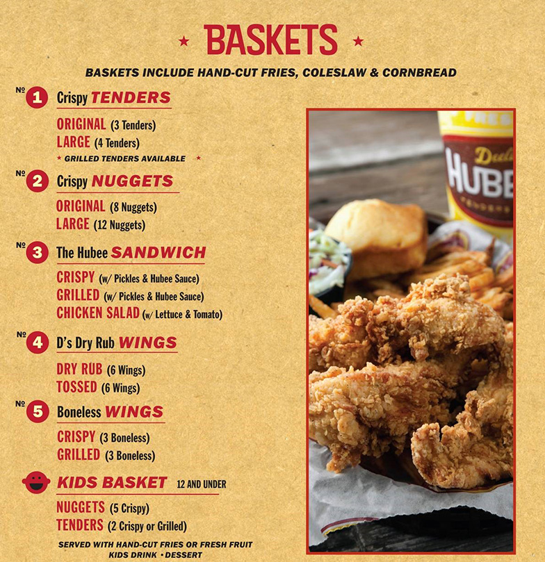 Main Menu Basket May 2014